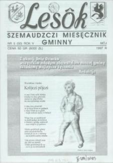 Lesôk Szemaudzczi Miesęcznik Gminny, 1997, môj, Nr 5 (50)