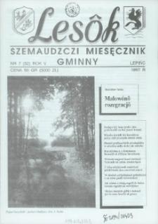 Lesôk Szemaudzczi Miesęcznik Gminny, 1997, lëpińc, Nr 7 (52)