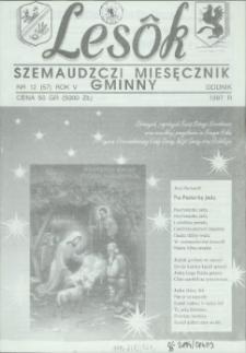 Lesôk Szemaudzczi Miesęcznik Gminny, 1997, godnik, Nr 12 (57)