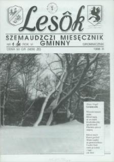 Lesôk Szemaudzczi Miesęcznik Gminny, 1998, stëcznik, Nr 1 (58)