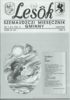 Lesôk Szemaudzczi Miesęcznik Gminny, 1998, łżekwiat, Nr 4 (61)