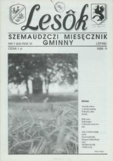 Lesôk Szemaudzczi Miesęcznik Gminny, 1998, lëpińc, Nr 7 (64)