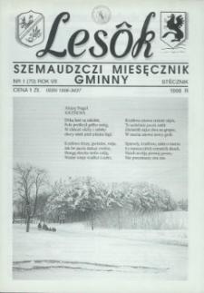 Lesôk Szemaudzczi Miesęcznik Gminny, 1999, stëcznik, Nr 1 (70)