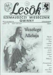 Lesôk Szemaudzczi Miesęcznik Gminny, 1999, strumiannik, Nr 3 (72)