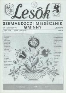 Lesôk Szemaudzczi Miesęcznik Gminny, 1999, łżekwiat, Nr 4 (73)