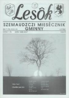 Lesôk Szemaudzczi Miesęcznik Gminny, 1999, lëpińc, Nr 7 (76)
