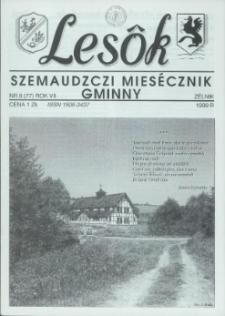 Lesôk Szemaudzczi Miesęcznik Gminny, 1999, zélnik, Nr 8 (77)