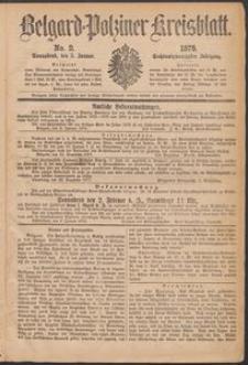 Belgard-Polziner Kreisblatt 1878