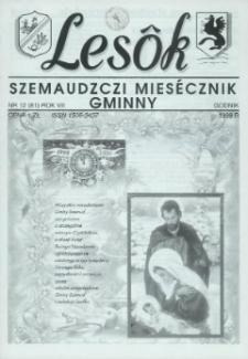 Lesôk Szemaudzczi Miesęcznik Gminny, 1999, godnik, Nr 12 (81)