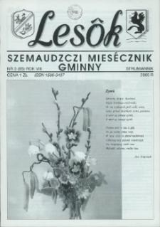 Lesôk Szemaudzczi Miesęcznik Gminny, 2000, strumiannik, Nr 3 (85)
