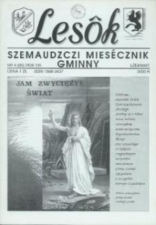 Lesôk Szemaudzczi Miesęcznik Gminny, 2000, łżekwiat, Nr 4 (86)