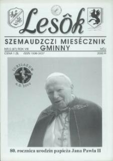 Lesôk Szemaudzczi Miesęcznik Gminny, 2000, môj, Nr 5 (87)