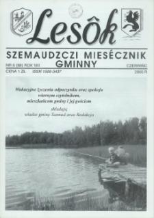 Lesôk Szemaudzczi Miesęcznik Gminny, 2000, czerwińc, Nr 6 (88)