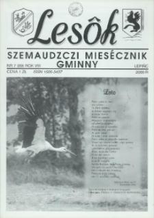 Lesôk Szemaudzczi Miesęcznik Gminny, 2000, lëpińc, Nr 7 (89)