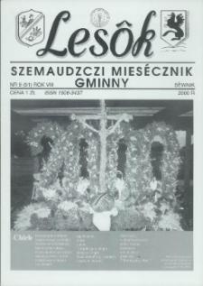 Lesôk Szemaudzczi Miesęcznik Gminny, 2000, sëwnik, Nr 9 (91)