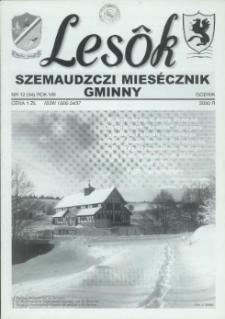 Lesôk Szemaudzczi Miesęcznik Gminny, 2000, godnik, Nr 12 (94)