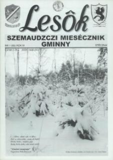 Lesôk Szemaudzczi Miesęcznik Gminny, 2001, stëcznik, Nr 1 (95)