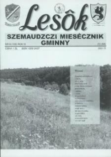 Lesôk Szemaudzczi Miesęcznik Gminny, 2001, zélnik, Nr 8 (102)