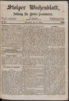 Stolper Wochenblatt. Zeitung für Hinterpommern № 37