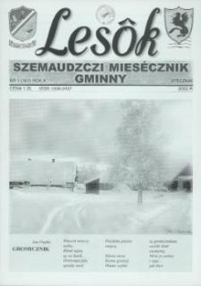 Lesôk Szemaudzczi Miesęcznik Gminny, 2002, stëcznik, Nr 1 (107)