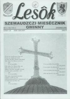 Lesôk Szemaudzczi Miesęcznik Gminny, 2002, gromnicznik, Nr 2 (108)