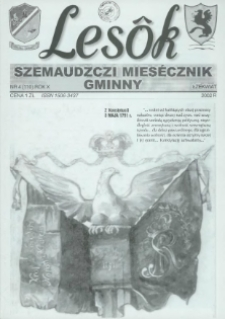 Lesôk Szemaudzczi Miesęcznik Gminny, 2002, łżekwiat, Nr 4 (110)