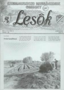 Lesôk Szemaudzczi Miesęcznik Gminny, 2002, czerwińc, Nr 6 (112)