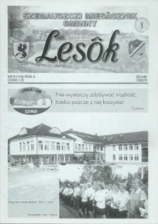 Lesôk Szemaudzczi Miesęcznik Gminny, 2002, zélnik, Nr 8 (114)