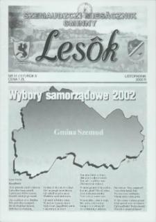 Lesôk Szemaudzczi Miesęcznik Gminny, 2002, listopadnik, Nr 11 (117)