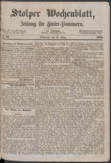 Stolper Wochenblatt. Zeitung für Hinterpommern № 39
