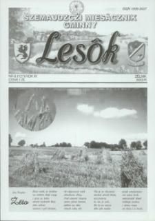 Lesôk Szemaudzczi Miesãcznik Gminny, 2003, zélnik, Nr 8 (127)