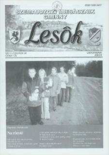 Lesôk Szemaudzczi Miesãcznik Gminny, 2003, listopadnik, Nr 11 (130)