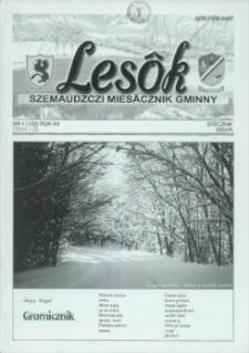 Lesôk Szemaudzczi Miesãcznik Gminny, 2004, stëcznik, Nr 1 (132)