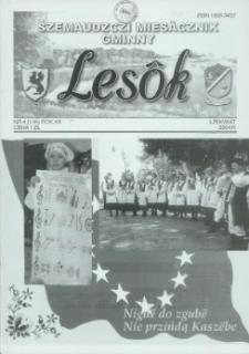 Lesôk Szemaudzczi Miesãcznik Gminny, 2004, łżekwiat, Nr 4 (135)