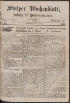 Stolper Wochenblatt. Zeitung für Hinterpommern № 40