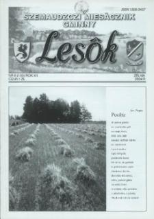 Lesôk Szemaudzczi Miesãcznik Gminny, 2004, zélnik, Nr 8 (139)
