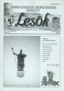 Lesôk Szemaudzczi Miesãcznik Gminny, 2004, listopadnik, Nr 11 (142)