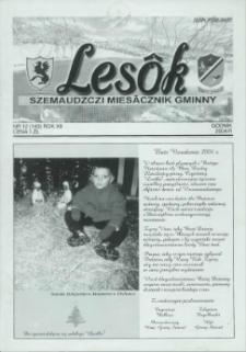 Lesôk Szemaudzczi Miesãcznik Gminny, 2004, godnik, Nr 12 (143)