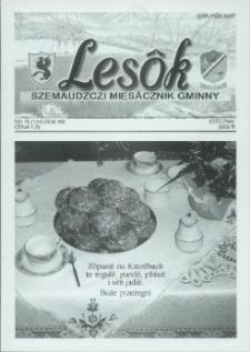 Lesôk Szemaudzczi Miesãcznik Gminny, 2005, stëcznik, Nr 1 (144)