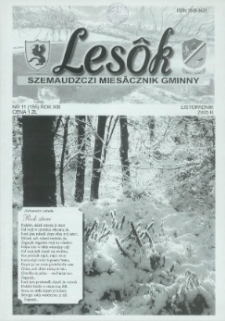 Lesôk Szemaudzczi Miesãcznik Gminny, 2005, listopadnik, Nr 11 (155)