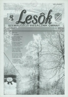 Lesôk Szemaudzczi Miesãcznik Gminny, 2006, stëcznik, Nr 1 (157)