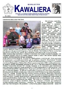 Kawaliera : biuletyn Koła nr 21, 2014, nr 2