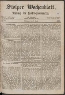 Stolper Wochenblatt. Zeitung für Hinterpommern № 41