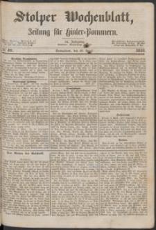 Stolper Wochenblatt. Zeitung für Hinterpommern № 42