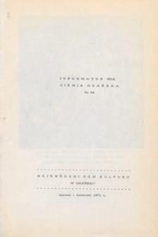 Informator WDK : Ziemia Gdańska, 1971, nr 86