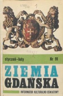 Informator WDK : Ziemia Gdańska, 1972, nr 91