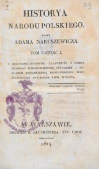 Historya narodu polskiego. T. 1, Cz. 1