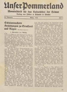 Unser Pommerland : Monatsschrift für das Kulturleben der Heimat, 1935, Nr. 2
