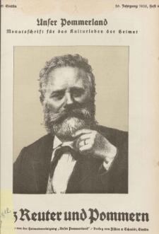 Unser Pommerland : Monatsschrift für das Kulturleben der Heimat, 1935, Nr. 6