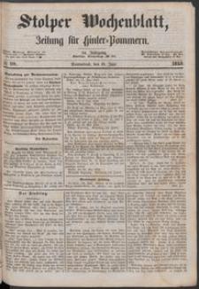 Stolper Wochenblatt. Zeitung für Hinterpommern № 70